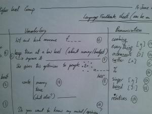 HandwrittenLanguageFeedbackForm