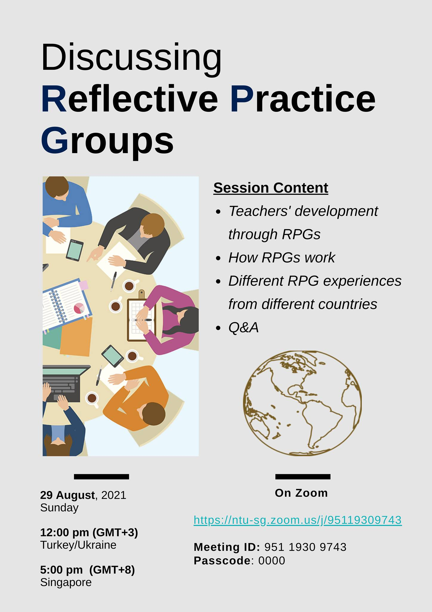 Discussing Reflective Practice Groups